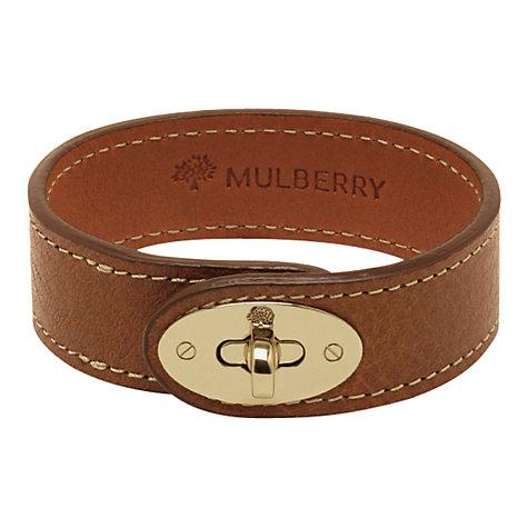 Buy Mulberry Bayswater Bracelet, Oak Online at johnlewis.com