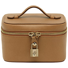 Buy Mulberry Leather Jewellery Case, Deer Brown Online at johnlewis.com
