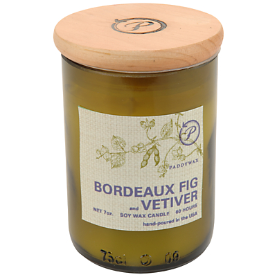 Paddywax Ecogreen Bordeaux Fig and Vetiver Scented Candle