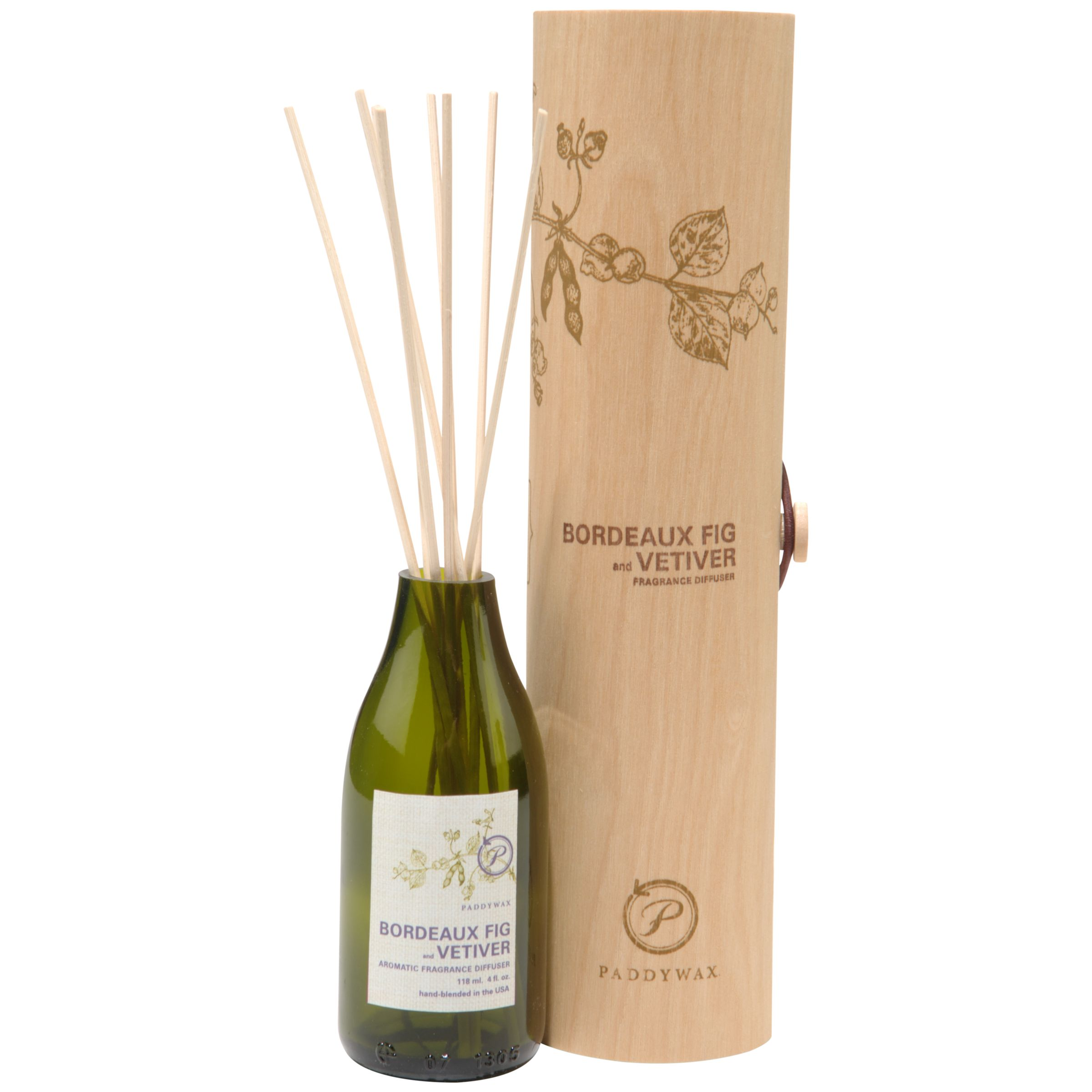 Paddywax Paddywax Ecogreen Bordeaux Fig and Vetiver Diffuser, 120ml
