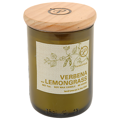 Paddywax Ecogreen Verbena and Lemongrass Scented Candle