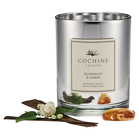 Buy Cochine Agarwood & Amber Scented Candle Online at johnlewis.com