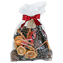 Buy Pollyfields Christmas Cone and Fruit Bag Online at johnlewis.com