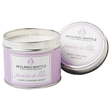 Buy Heyland & Whittle Jasmine & Lilac Candle Tin Online at johnlewis.com