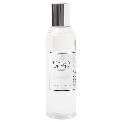 Buy Heyland & Whittle Jasmine & Lilac Diffuser Refill, 200ml Online at johnlewis.com