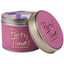 Buy Lily-Flame Party Time Scented Candle Tin Online at johnlewis.com