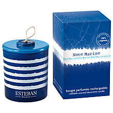 Buy Esteban Marine Scented Decorative Candle, 150g Online at johnlewis.com