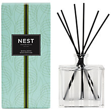 Buy NEST Fragrances Moss & Mint Diffuser, 175ml Online at johnlewis.com