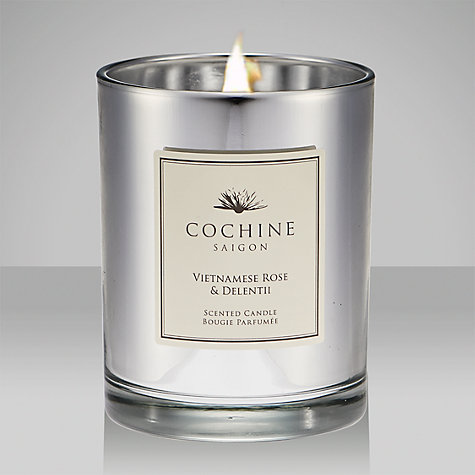 Buy Cochine Vietnamese Rose & Delentii Scented Candle Online at johnlewis.com
