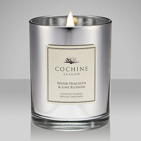 Buy Cochine Water Hyacinth & Lime Blossom Scented Candle Online at johnlewis.com
