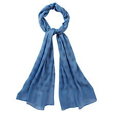 Buy Viyella Multi Spot Scarf, Navy Online at johnlewis.com