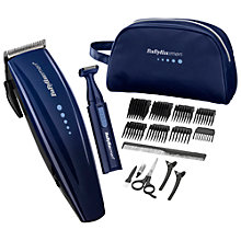 Buy Babyliss For Men 7436TGU Deluxe Hair Clipper Gift Set Online at johnlewis.com