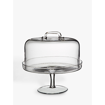 LSA International Serve Cake Stand and Dome, Dia.26.5cm