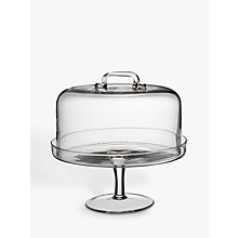 Buy LSA Cake Stand and Dome, Dia.26.5cm Online at johnlewis.com