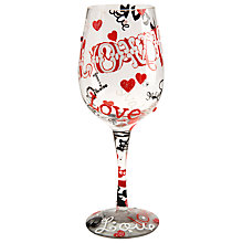 Buy Lolita Love Love Wine Glass Online at johnlewis.com