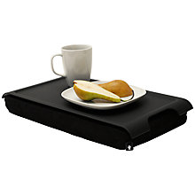 Buy Bosign Mini Laptray, Black Plastic Online at johnlewis.com