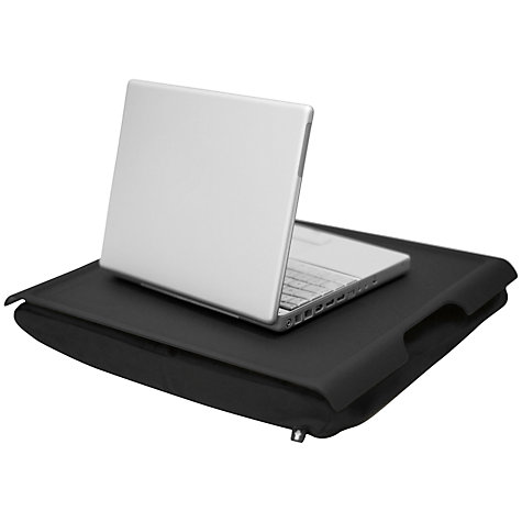 Buy Bosign Large Lap Tray, Black Plastic Online at johnlewis.com
