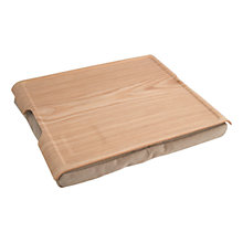 Buy Bosign Large Laptray, Natural Wood Online at johnlewis.com