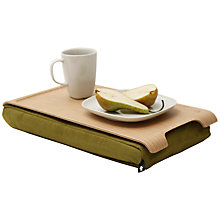 Buy Bosign Mini Laptray, Natural Wood Online at johnlewis.com