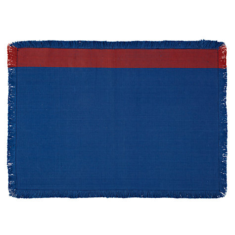 Buy John Lewis Cabo Frayed Edge Placemats, Set of 2 Online at johnlewis.com