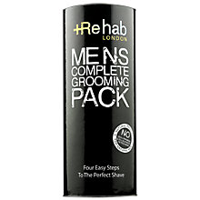 Buy Rehab London Men's Complete Grooming Pack Online at johnlewis.com
