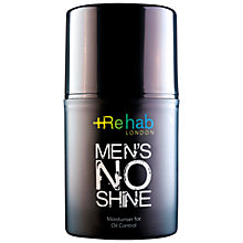Buy Rehab London Men's No Shine, 50ml Online at johnlewis.com