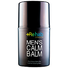 Buy Re Hab London Men's Calm Balm, 50ml Online at johnlewis.com