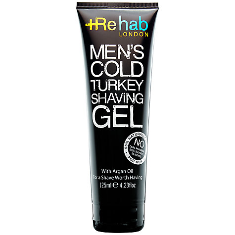 Buy Rehab London Men's Cold Turkey Shaving Gel, 125ml Online at johnlewis.com