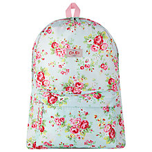 Buy Cath Kidston Spray Flowers Rucksack, Blue Online at johnlewis.com