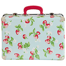 Buy Cath Kidston Strawberry Field Kids Suitcase, Blue Online at johnlewis.com