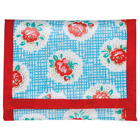 Buy Cath Kidston Lattice Rose Wallet, Blue Online at johnlewis.com