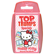 Buy Top Trumps Cards, Hello Kitty Around The World Online at johnlewis.com
