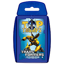 Buy Top Trumps Cards, Transformers Prime Online at johnlewis.com