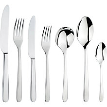 Buy Arthur Price Monsoon Eloquence Cutlery Set, 7 Piece Online at johnlewis.com