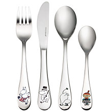 Buy Moomin Child's Cutlery Set Online at johnlewis.com