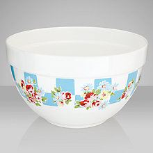 Buy Cath Kidston Daisy Rose Check Mixing Bowl Online at johnlewis.com