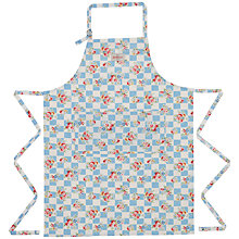 Buy Cath Kidston Daisy Rose Check Wipe Clean Apron Online at johnlewis.com