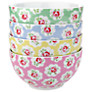 Buy Cath Kidston Provence Rose Cereal Bowls, Set of 4 Online at johnlewis.com