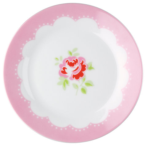 Buy Cath Kidston Provence Rose Dinner Plates, Set of 4, Dia.27cm Online at johnlewis.com