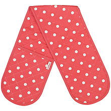 Buy Cath Kidston Spot Double Oven Glove Online at johnlewis.com