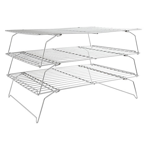 Buy John Lewis 3 Tier Cooling Rack Online at johnlewis.com