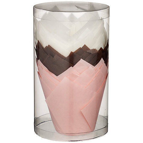 Buy John Lewis Tulip Paper Cupcake Cases Online at johnlewis.com