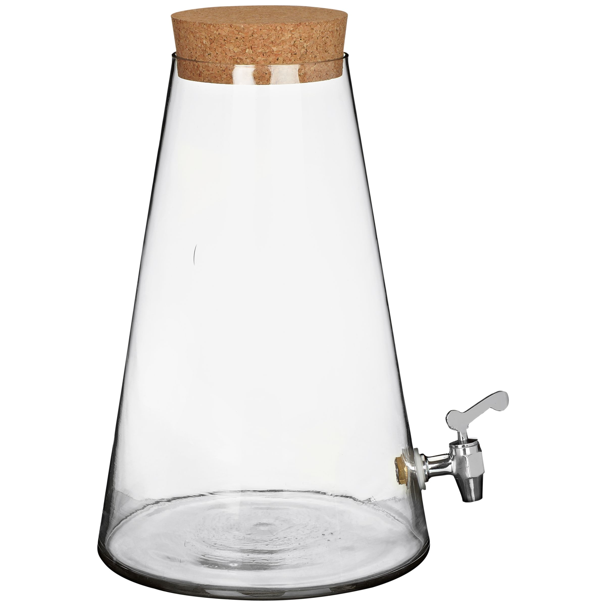 John Lewis Pioneer Glass Drinks Dispenser
