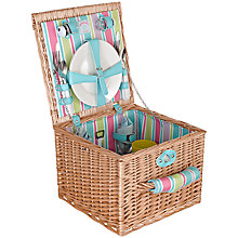 Buy John Lewis Summerhouse 2 Person Picnic Hamper Online at johnlewis.com