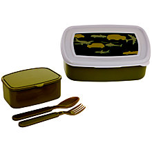 Buy Navigate Urban Camo Bento Lunch Box Online at johnlewis.com