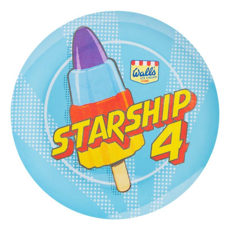 Wall's Starship Plate
