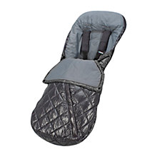 Buy Uppababy Footmuff, Jake Black Online at johnlewis.com