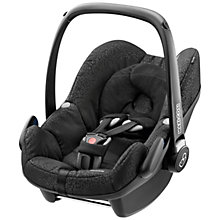 Buy Maxi-Cosi Pebble Baby Car Seat, Modern Black Online at johnlewis.com