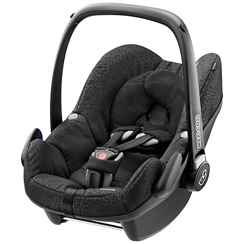 Buy Maxi-Cosi Pebble Infant Carrier, Modern Black Online at johnlewis.com