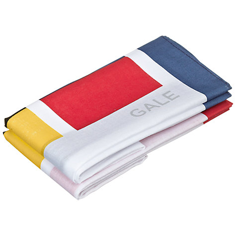 Buy Nick Munro RNLI The Signs of the Sea Flag Hankerchiefs, Pack of 2 Online at johnlewis.com